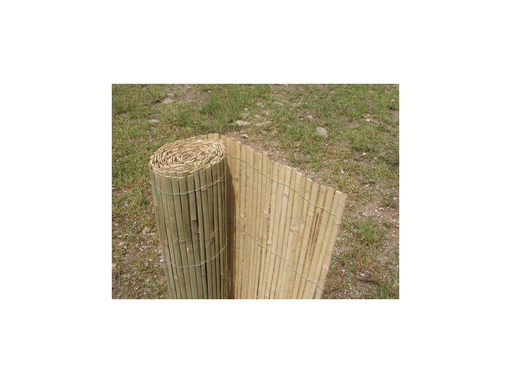 Bambusová rohož plotová - štípaná 180 cm