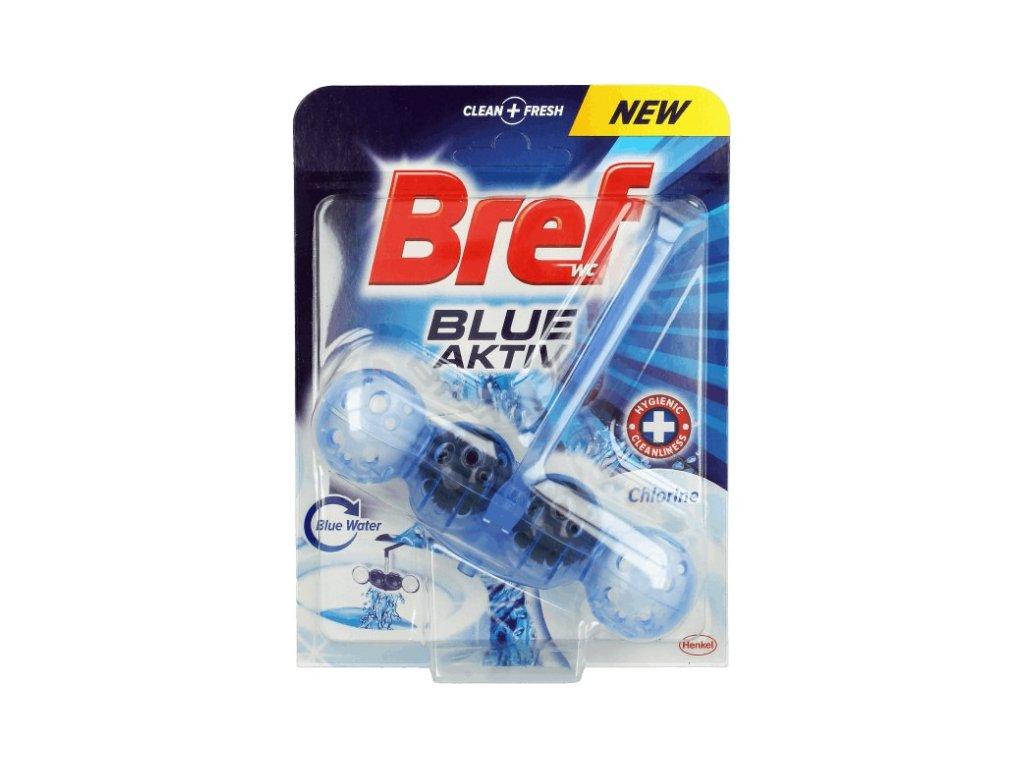 Bref Blue Aktiv WC blok závěsný 51g Chlorine