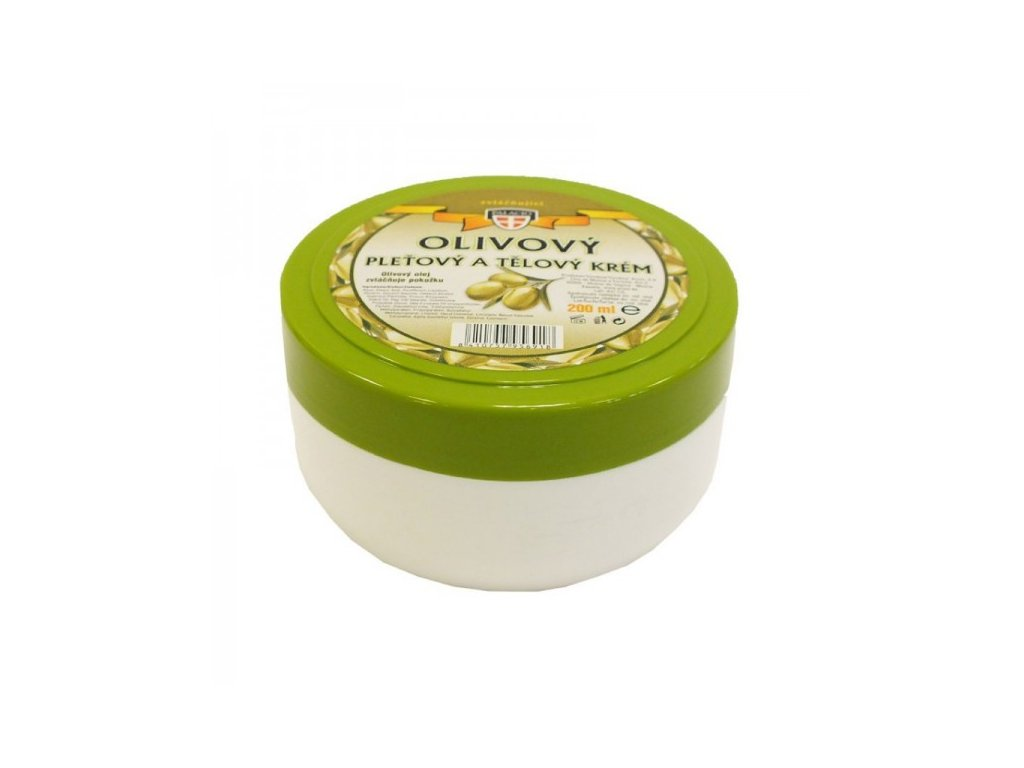 Olivový pleťový a tělový krém, 200ml
