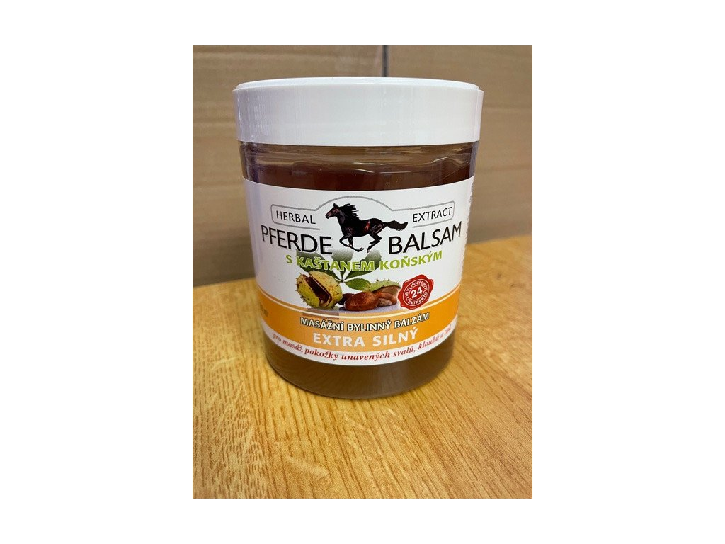 Pferde balzám extra silný  500 ml