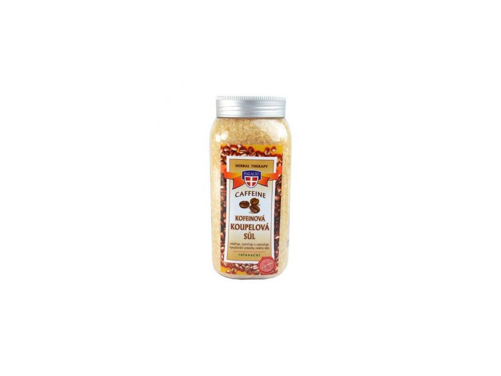 Kofeinová sůl do koupele 900g