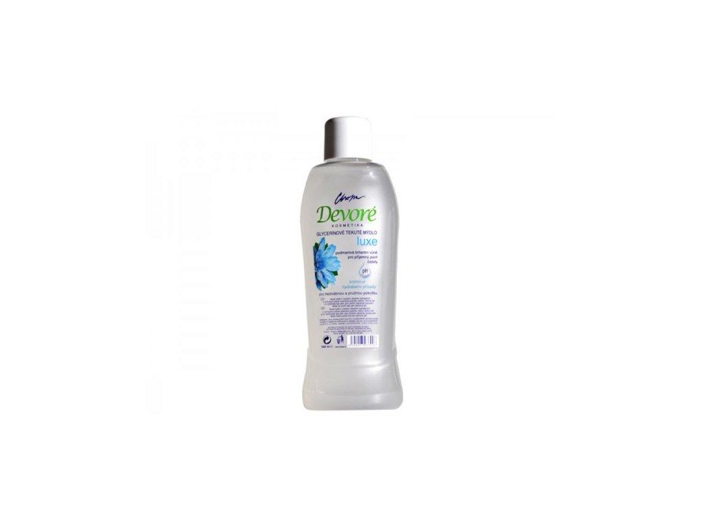 Devoré hydratační tekuté mýdlo glycerínové 1L