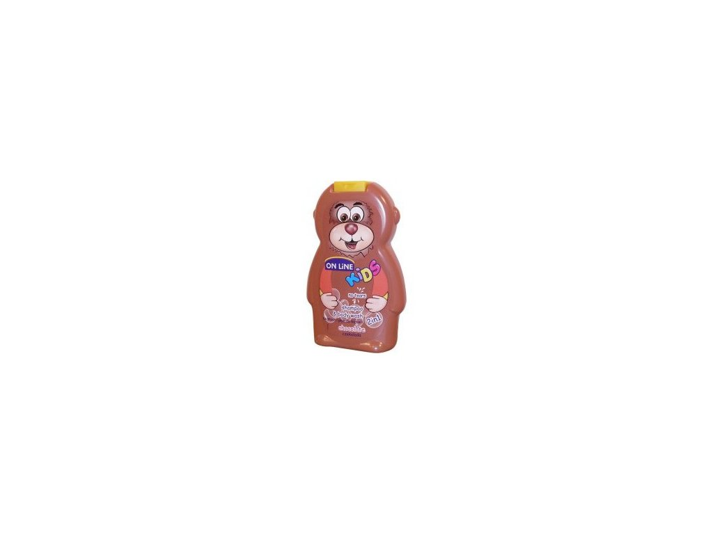 On Line Kids Chocolate Sprchový gel+Šampon 250ml