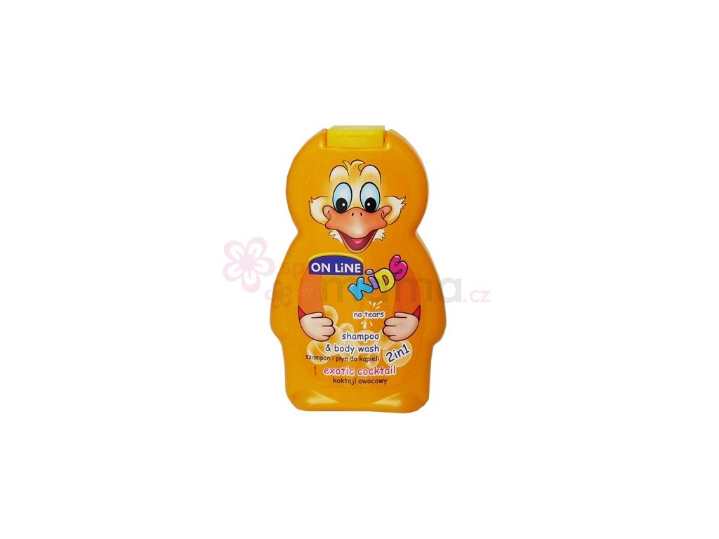 On Line Kids Exotic Sprchový gel+Šampon 250ml