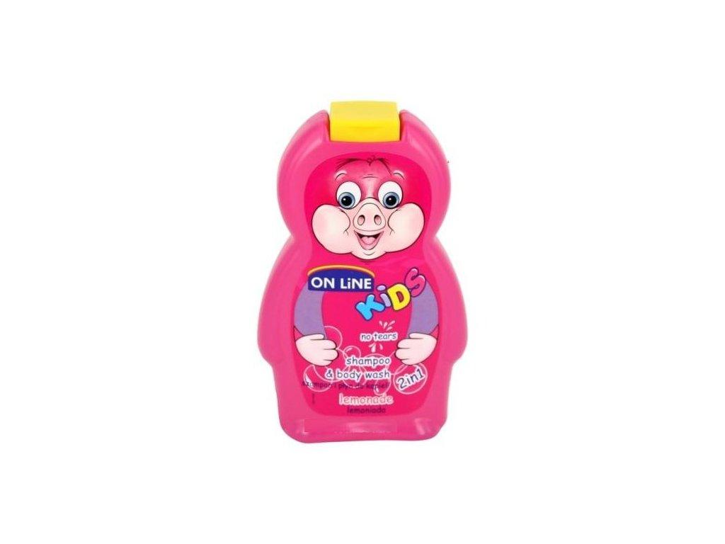 On Line Kids Lemonade Sprchový gel+Šampon 250ml