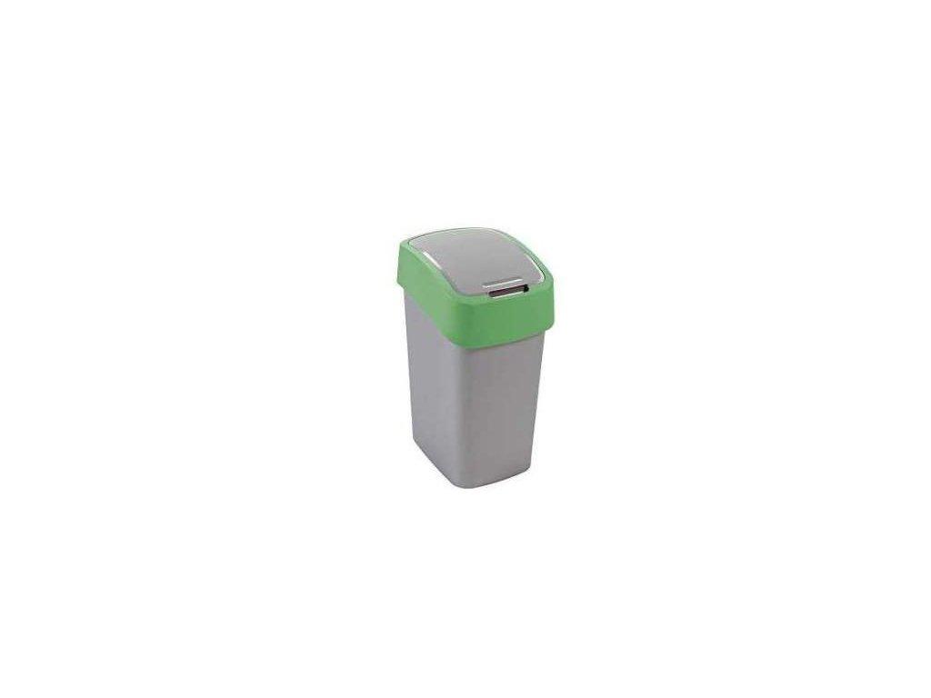 Odpadkový koš FLIPBIN 10l - zelený