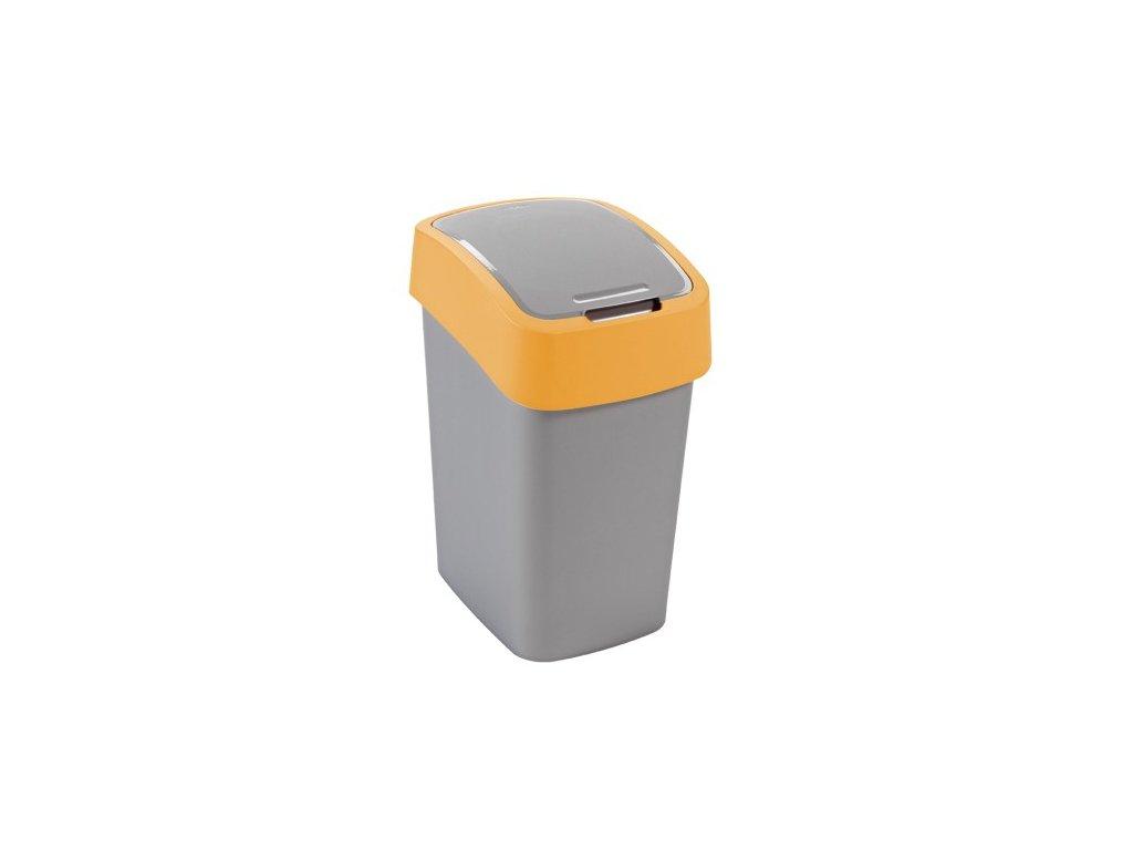 Odpadkový koš FLIPBIN 10l - žlutý