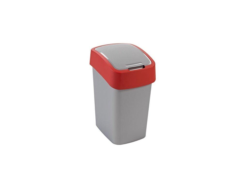 Odpadkový koš FLIPBIN 10l - červený