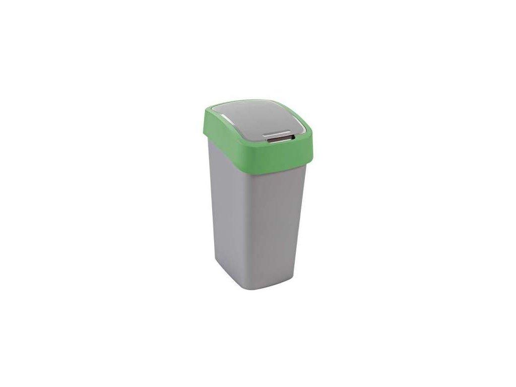 Odpadkový koš FLIPBIN 50l - zelený