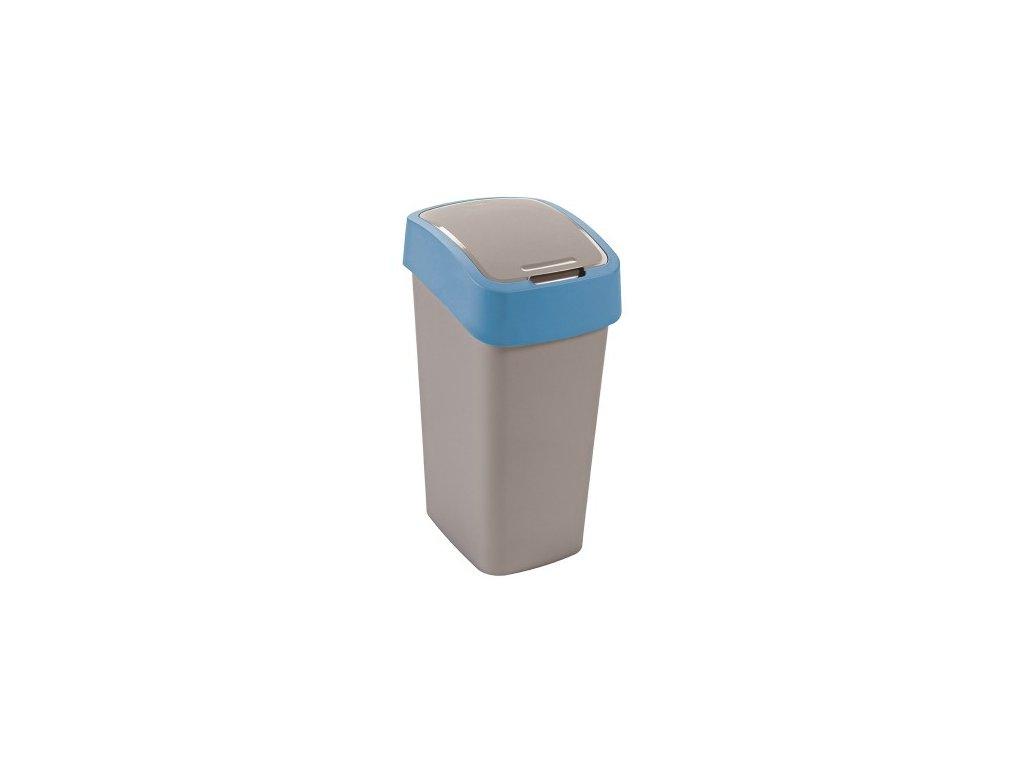 Odpadkový koš FLIPBIN 50l - modrý