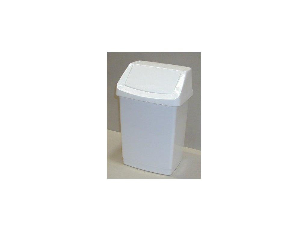 Koš odpadkový CLICK 25l - bílý