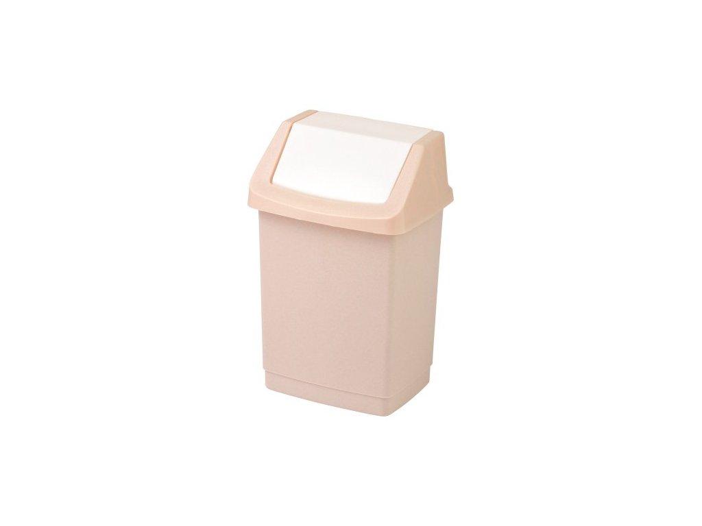 Koš odpadkový CLICK 50l - savanna