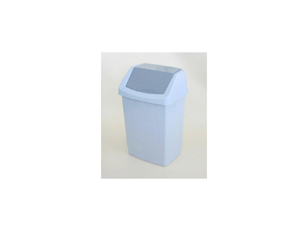 Koš odpadkový CLICK 50l - luna