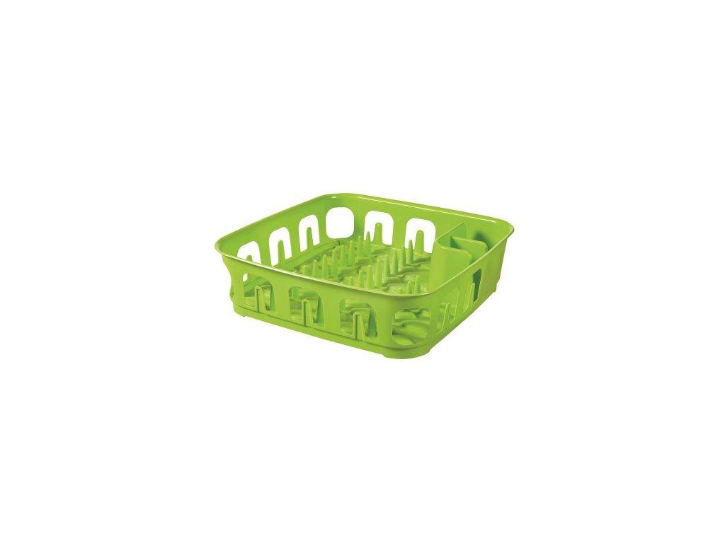 Odkapávač ESSENTIALS čtverec - zelený