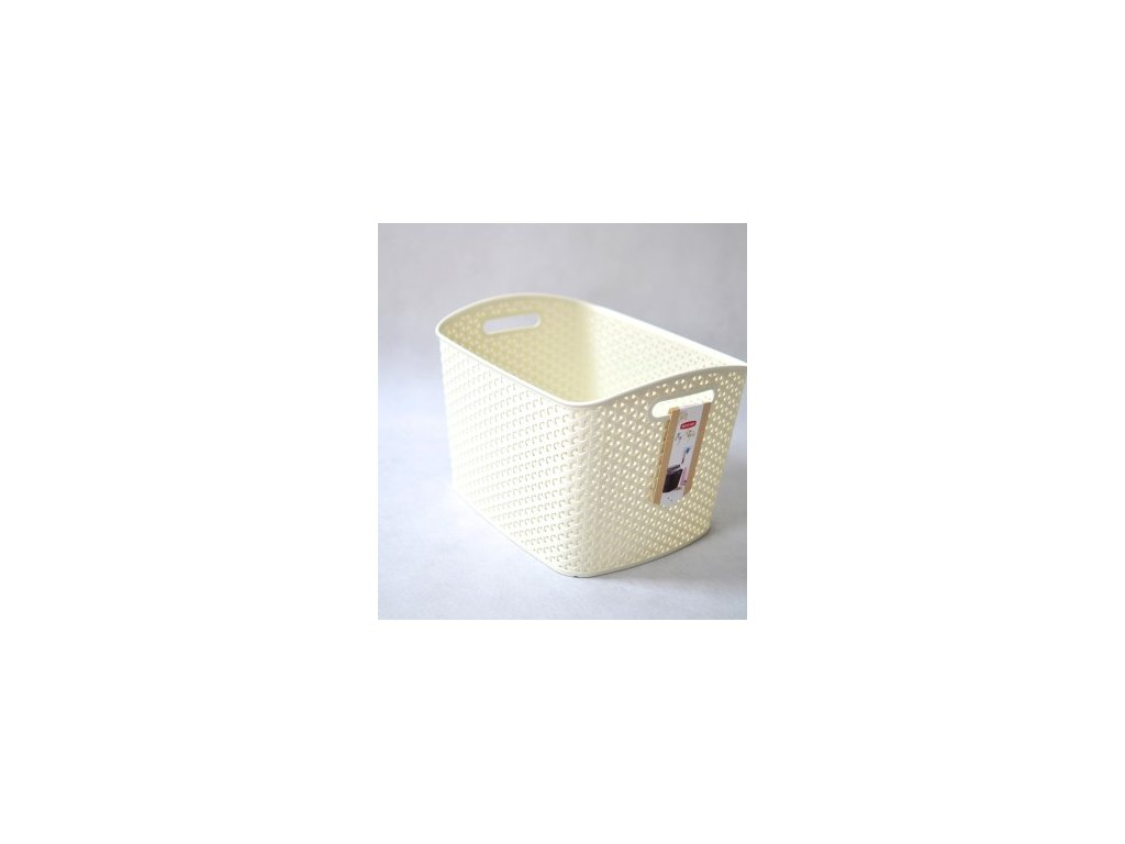 RATTAN Y STYLE box- XL- krémový
