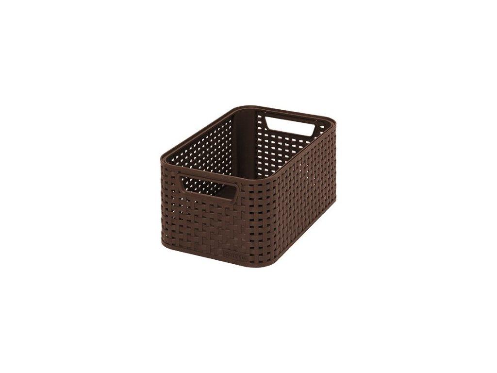 úložný STYLE BOX - S- hnědý