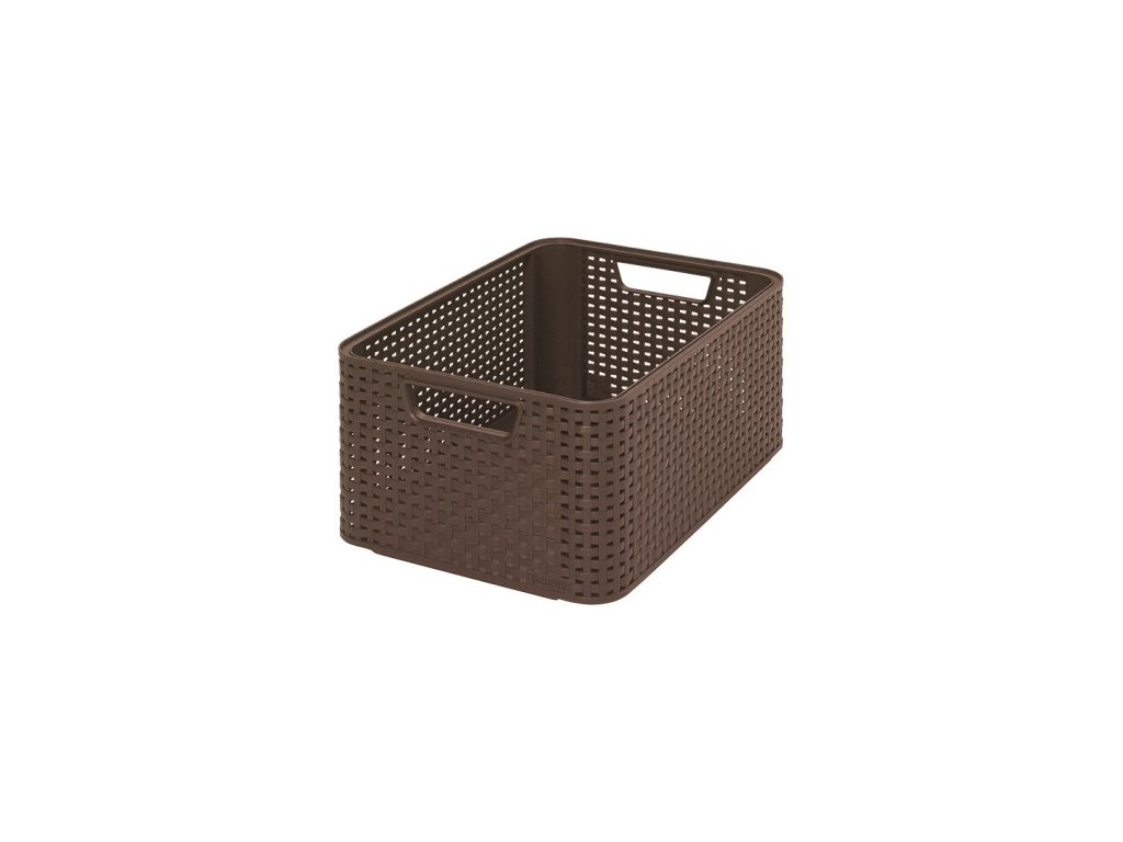 úložný STYLE BOX - M- hnědá