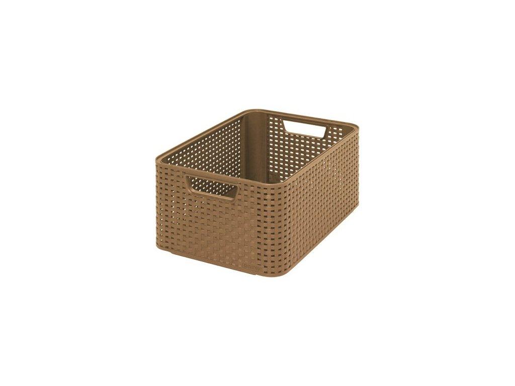 úložný STYLE BOX - M- mocca