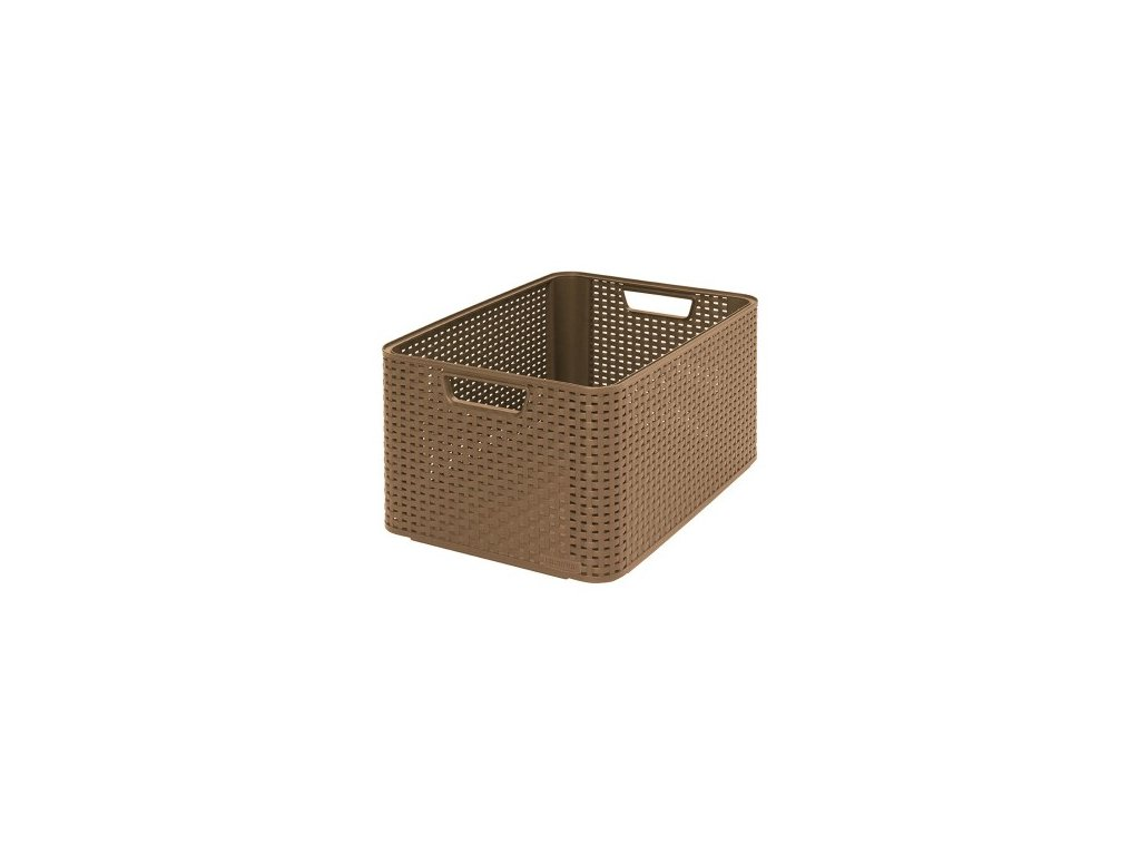 úložný STYLE BOX - L- mocca
