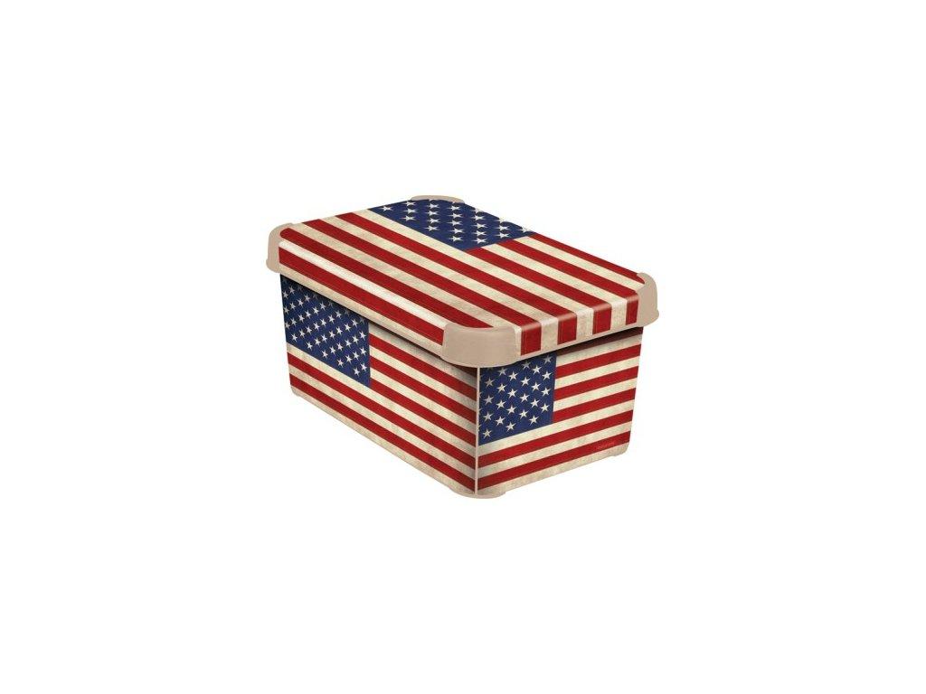 Úložný box - S - USA