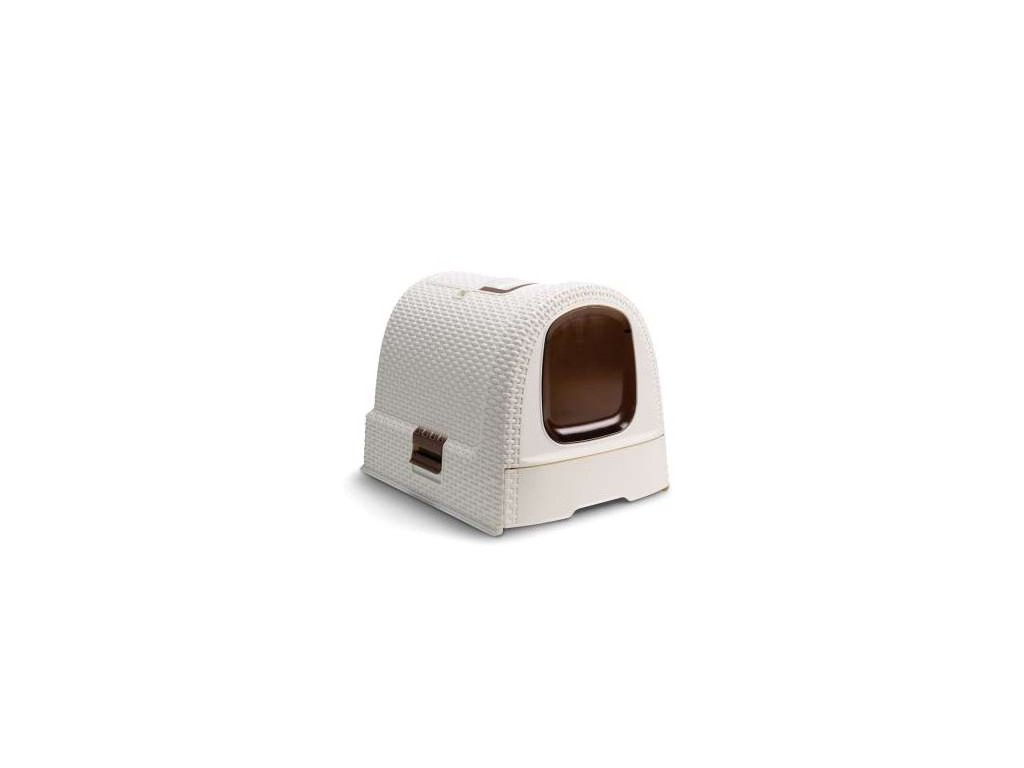 Toaleta pro kočky RATTAN - Vintage