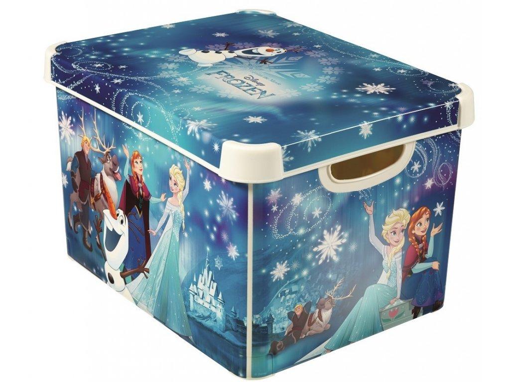 Dětský úložný box - Ledové království - L