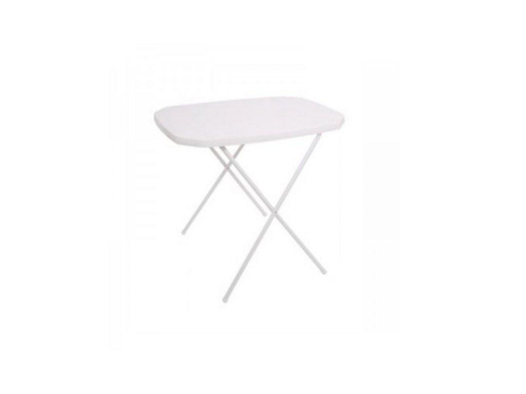Stůl CAMPING 53x70 - bílý