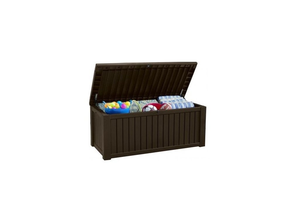 ROCKWOOD box úložný - hnědý