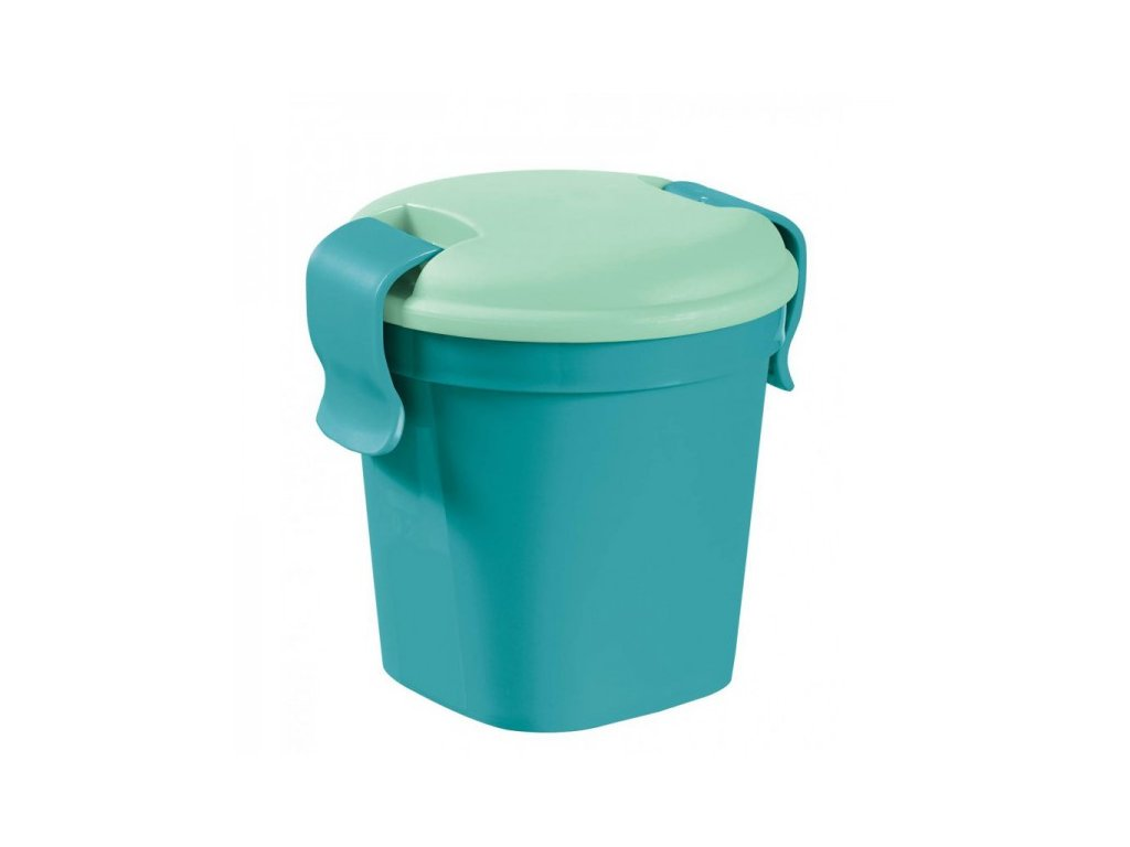 Hrnek Lunch & go S modrý (00739-B36)