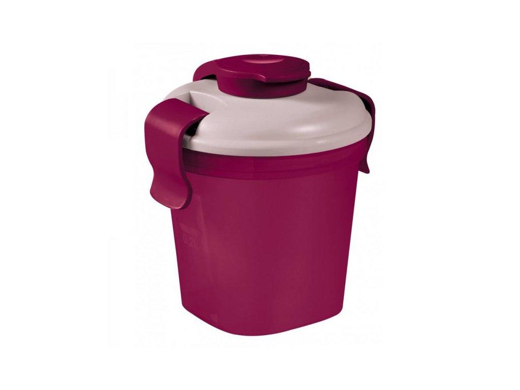 Cestovní lahev Lunch & go S fialová (00739-B35)
