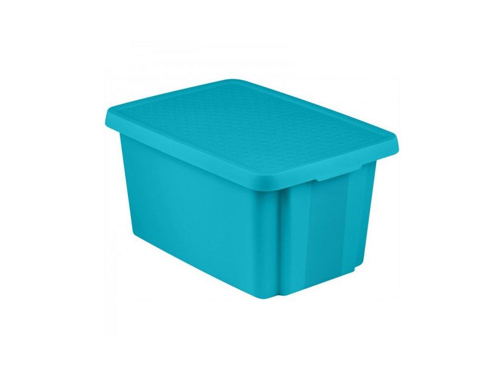 ESSENTIALS box 45L - modrý