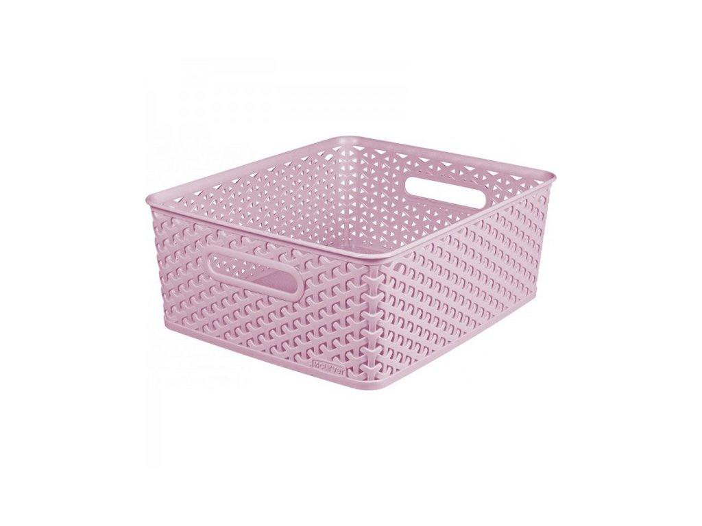 úložný box MY STYLE - M - růžový