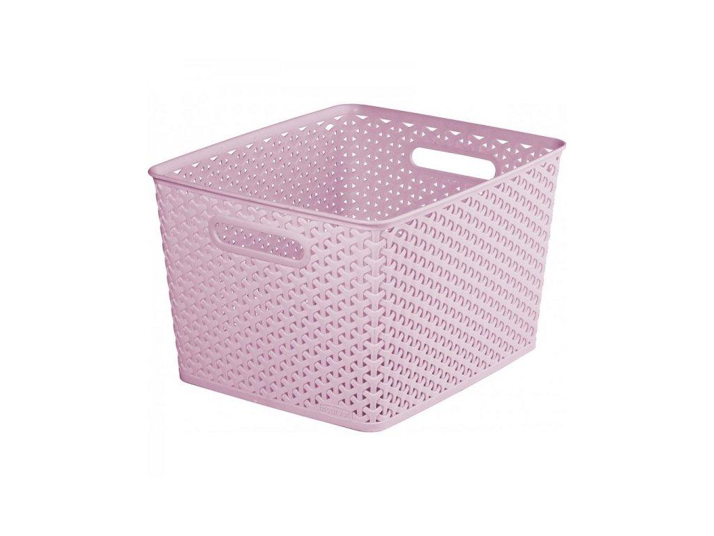 úložný box MY STYLE L - růžový