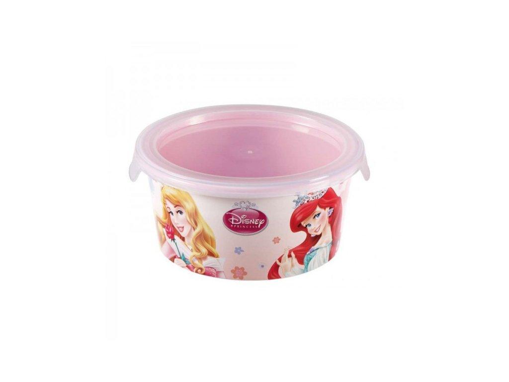 Snack box ROUND - 0,5L - Princess