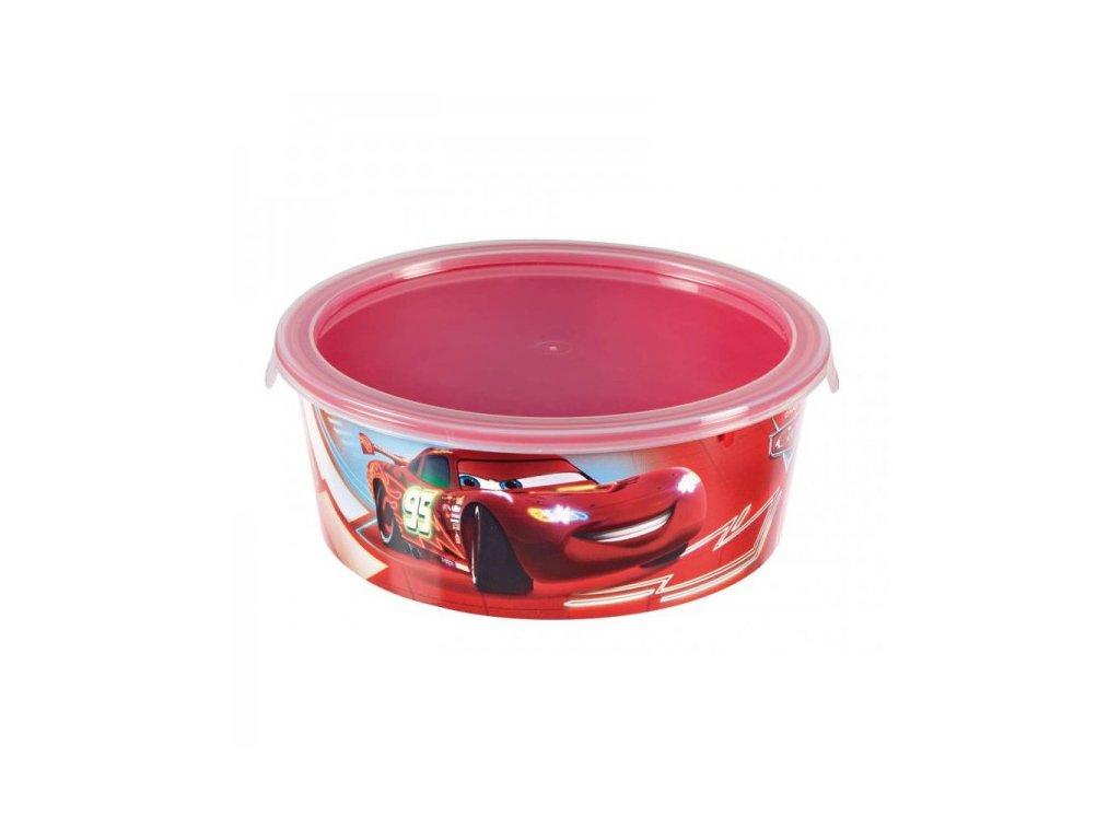 Snack box ROUND - 0,5L - CARS