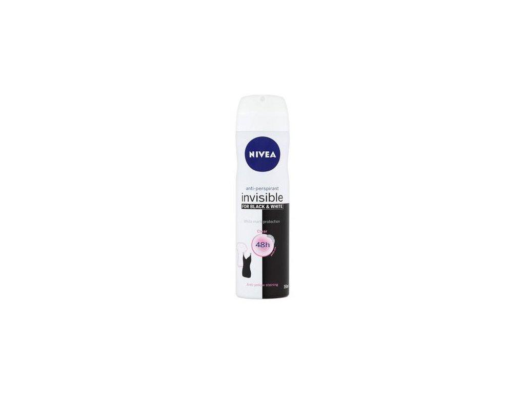 Nivea Invisible for Black & White Clear antiperspirant 150 ml