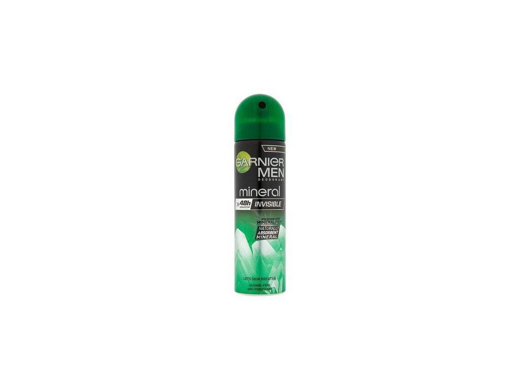 Garnier Mineral Men Invisible minerální deodorant 150 ml