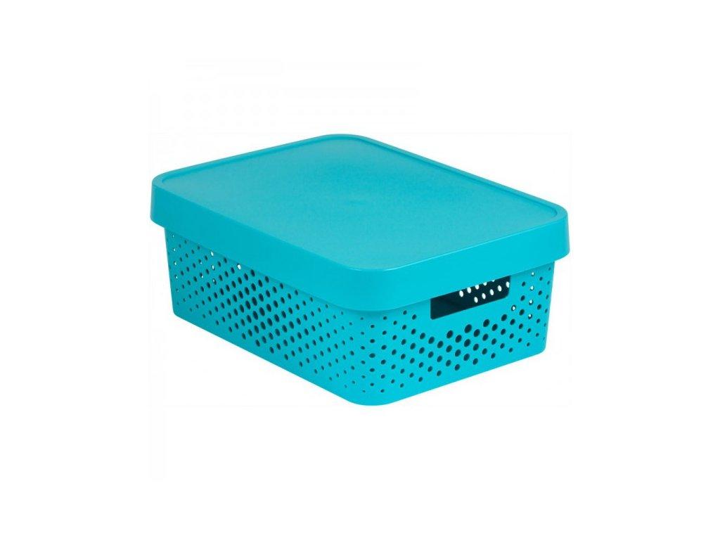 INFINITY DOTS box 11L - modrý