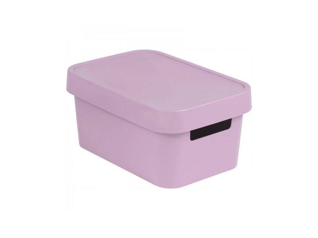 INFINITY box 4,5L - růžový
