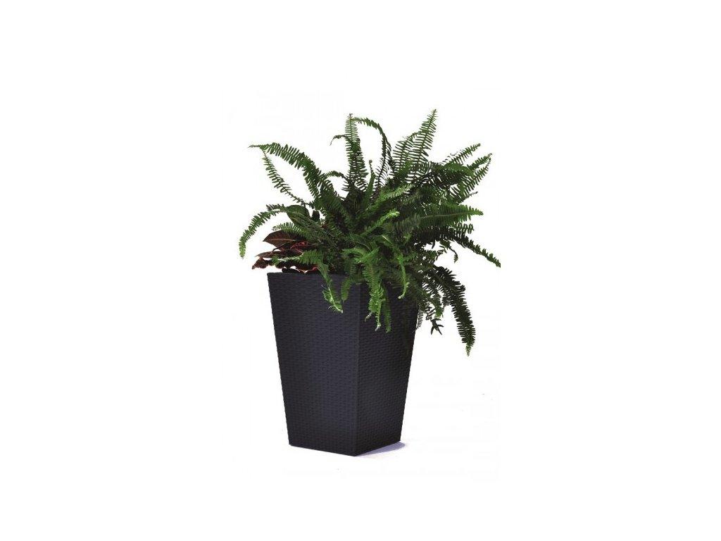 Rattan planter M