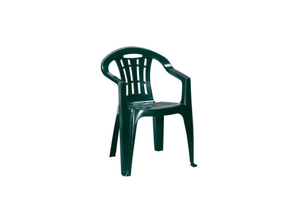 MALLORCA křeslo tmavě zelené