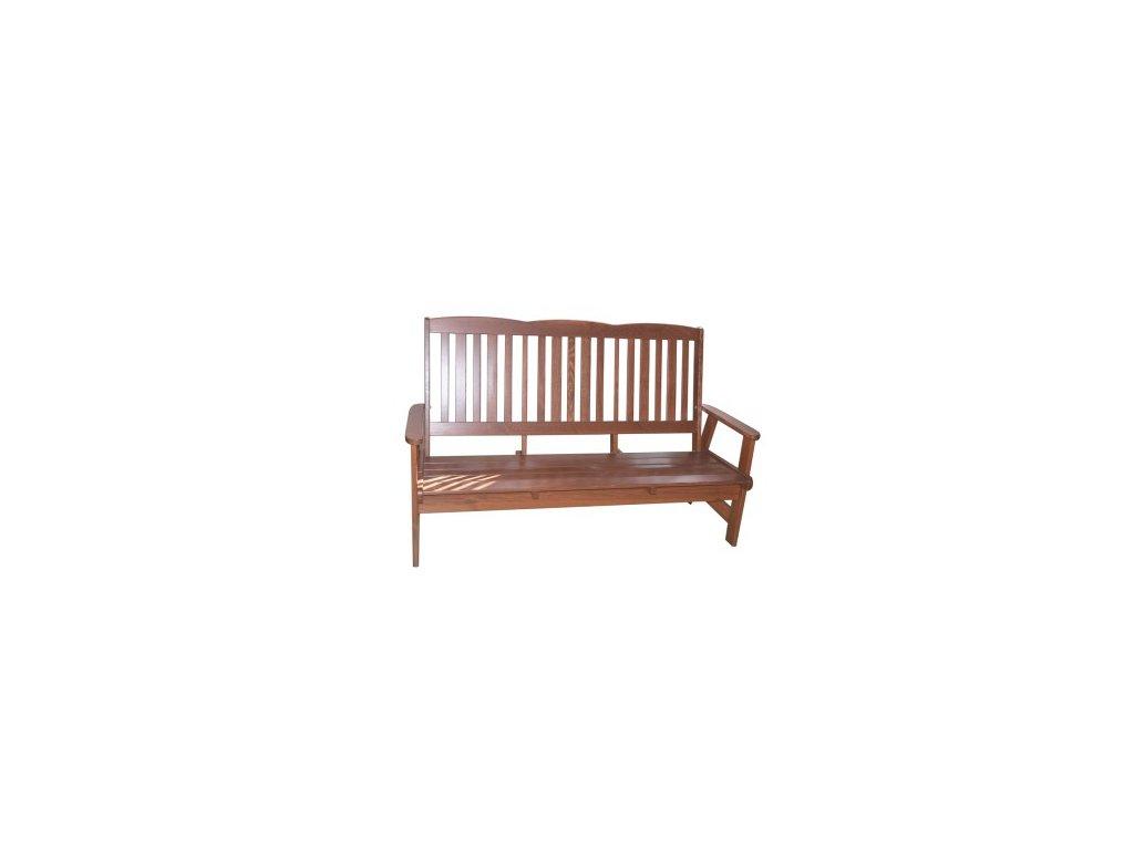 RojaPlast Dřevěná zahradní lavice LUISA z masivní borovice ROPL.414/5