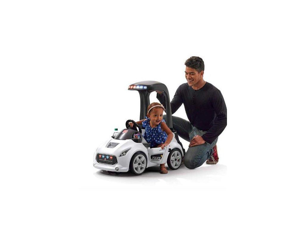 STEP2 Dětské autíčko Turbo Coupe policejní