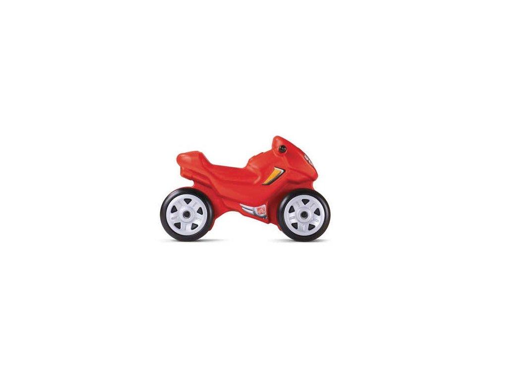 STEP2 Odrážedlo Motorka červená
