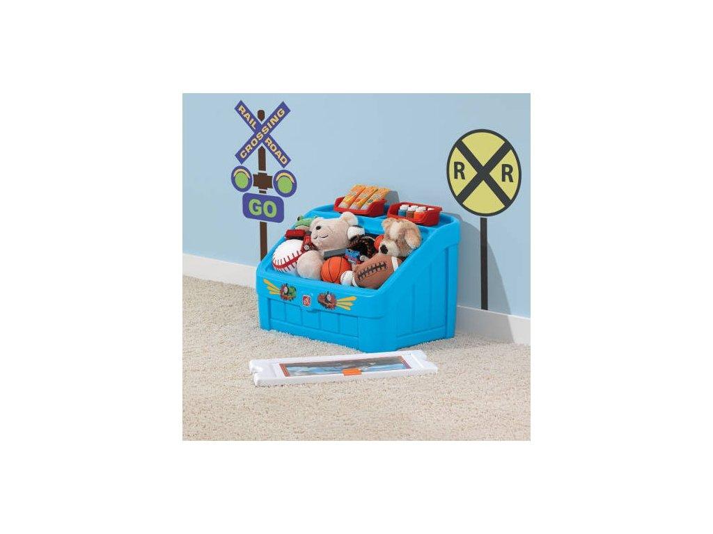 STEP2 Box na hračky Tomáš 2v1