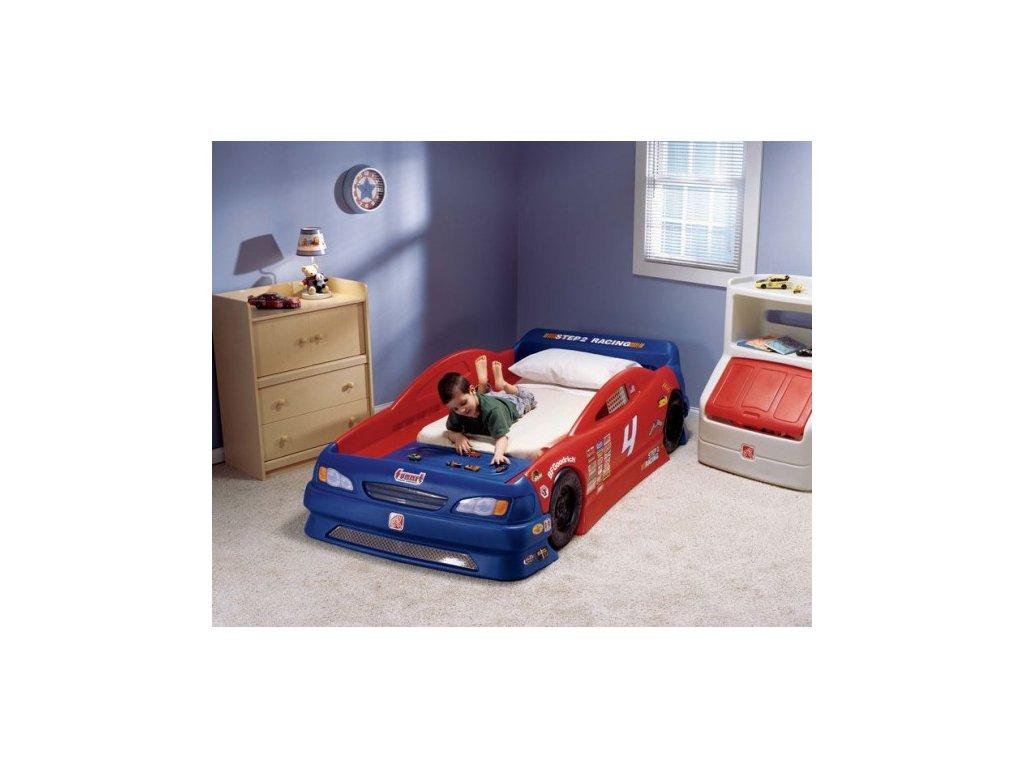 STEP2 Dětská postel auto KABRIOLET