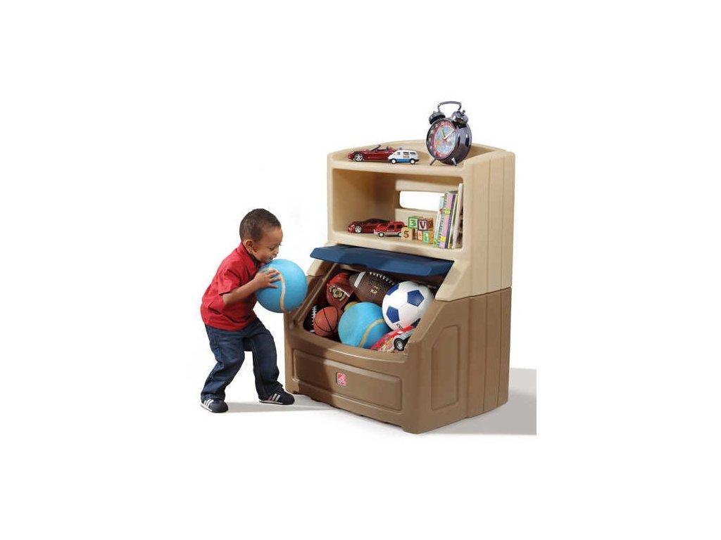 STEP2 Skříňka na hračky TWIN