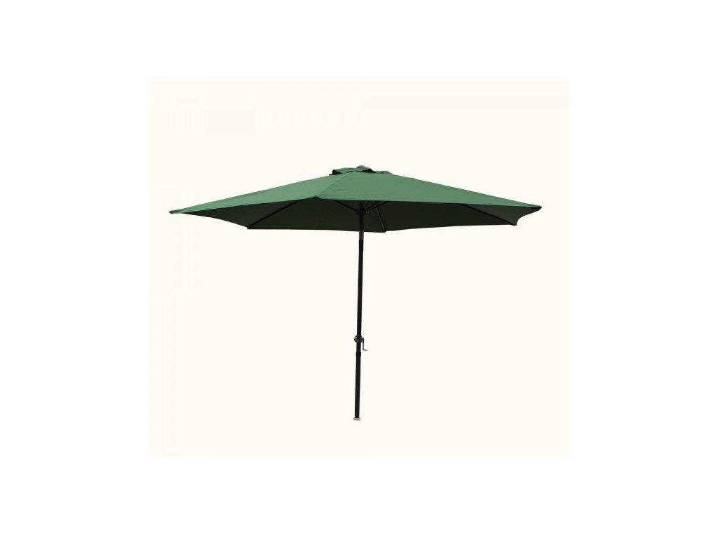 Slunečník NAKLÁPĚCÍ 300cm - zelená