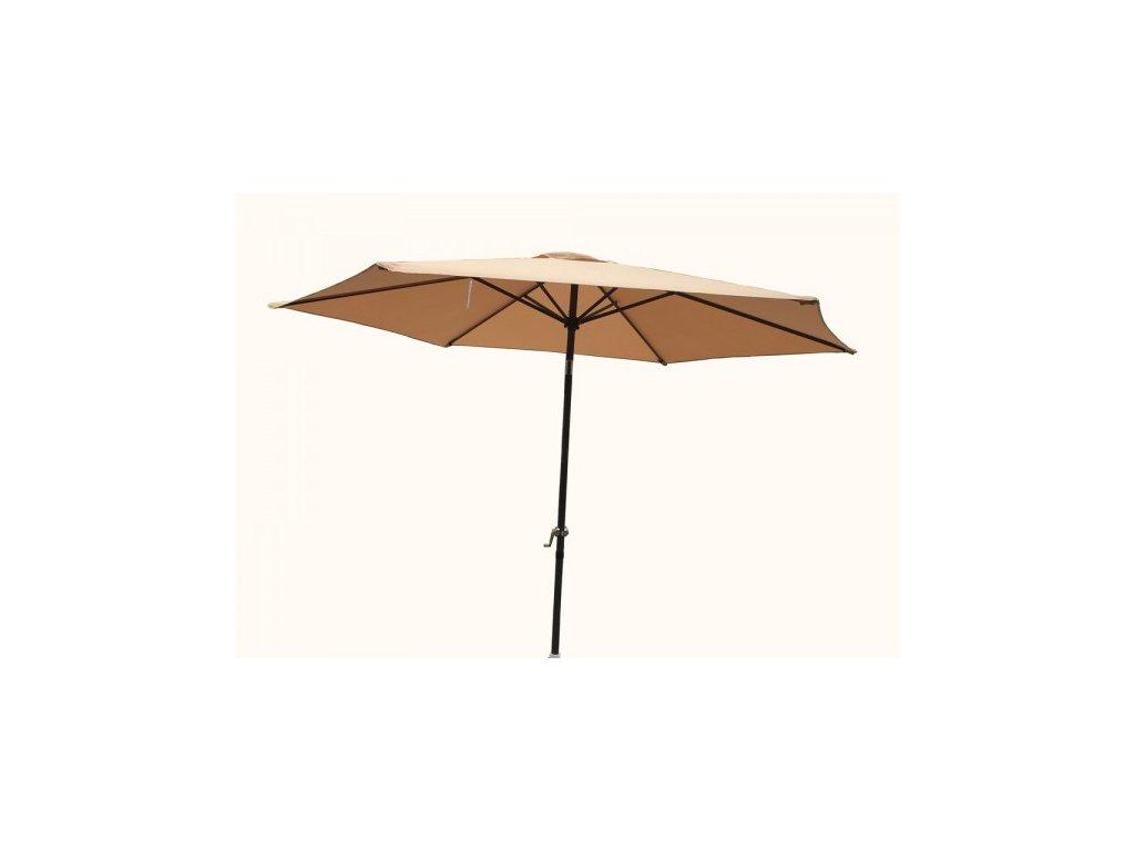 Slunečník NAKLÁPĚCÍ 300cm - béžový