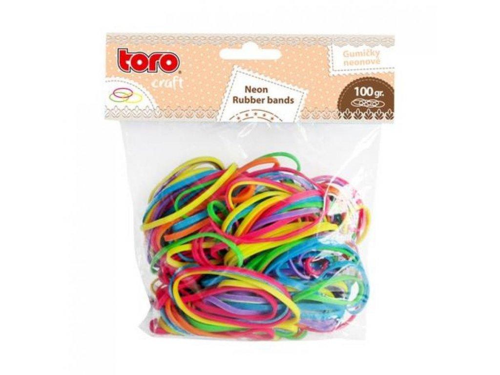 toro gumicky neonove 100g 203718
